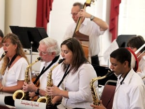 Big band a big hit at Rosewood