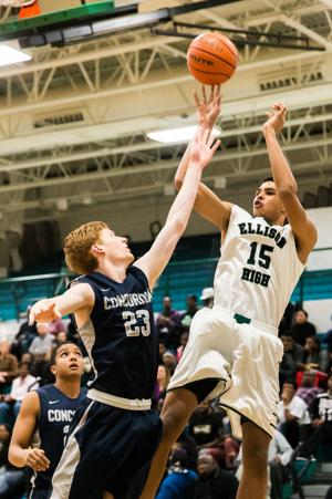 Ellison v Concordia Lutheran Boys Basketball