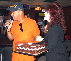 VFW cake auction