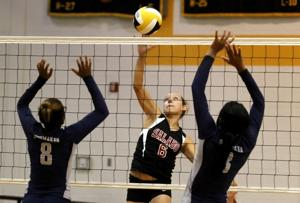 Volleyball: Shoemaker vs. Salado 8.25.12