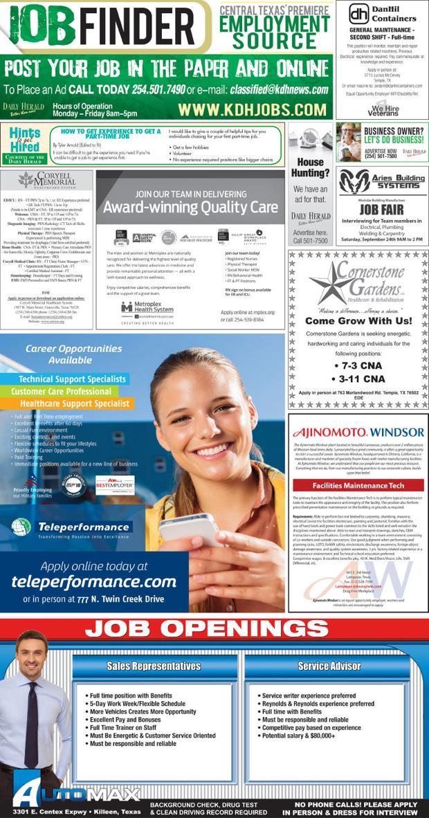 Job Finder 9/22/16