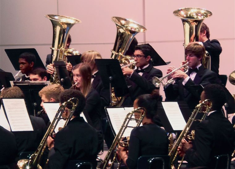 Cove band concert