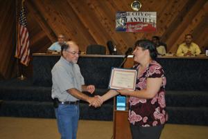 Nolanville honors Bob Pena