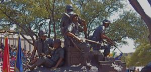 Veterans monument unveiling