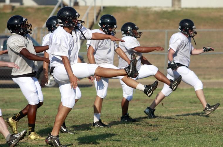 Class 1A-3A Football Practice
