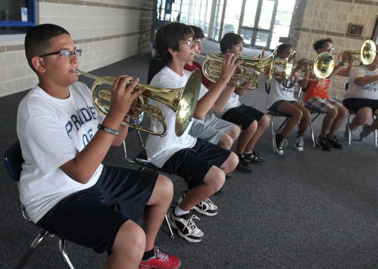 High school band hones skills at 'Nine to Nine' camp
