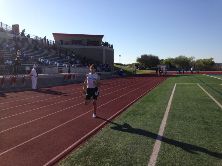 Area Track Meet Running Events