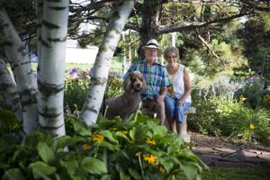 Minnesota garden is stroller's paradise