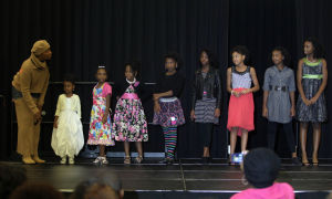 Natural Hair.Photo J.Villanueva 0005.jpg: Children participate in a hairstyle runway show during the 3rd Armed Forces Natural Hair and Health Expo Saturday afternoon at the Killeen Civic & Conference Center. - Jaime Villanueva