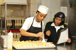 Food service personnel compete in post contest