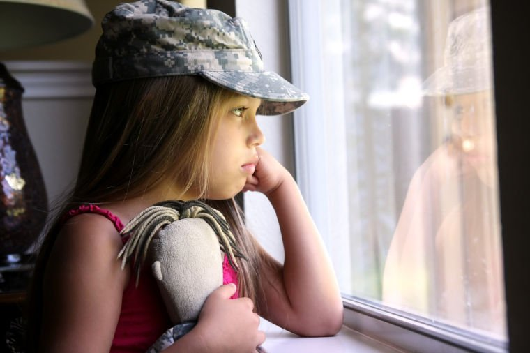 Deployment's effect on children's mental health