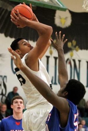 Ellison vs. Hays Boys Basketball