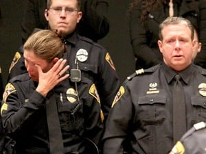 Fallen officer had 'a servant's heart'