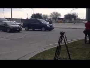 Fort Hood shooting scene