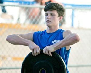 Lampasas Football -Harrison Gillespie