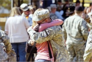 Happy, sad times for Fort Hood units, families
