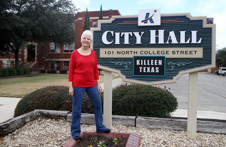 Ann Farris by City Hall