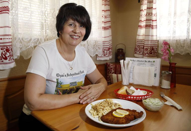 Warm welcome, hearty food at Opa's Schnitzel Hut