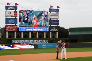 Round Rock Express recognizes Soldiers with Military Appreciation Night