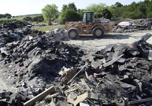 Tons of Shingles: Killeen landowner claims roofers dumped trash illegally