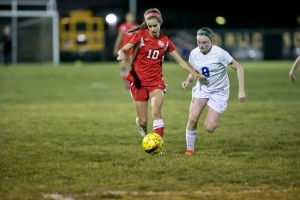 Winkler's nifty shot, hat trick spark Lady Tigers in 5-0 win over Cove