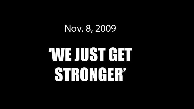 We Just Get Stronger
