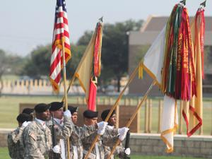 13th Sustainment Command - Change of Command