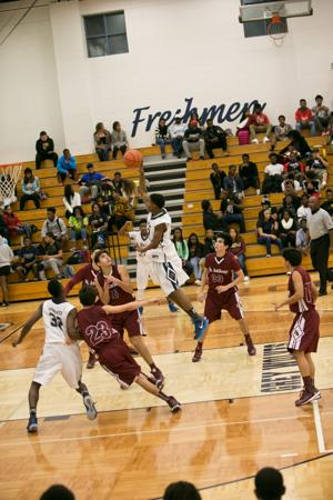 St. Anthony vs. Shoemaker-Boys Basketball 11-25-2014