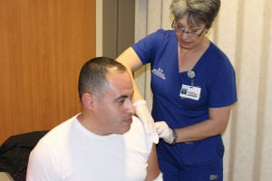 Clinic offering flu shots