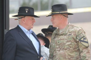 Faces and Places - 1st Cavalry Division Colors Casing Ceremony
