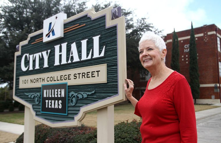 Ann Farris by City Hall