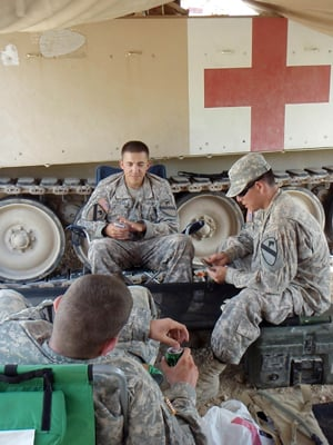 It takes a lot for a medic to become 'doc'