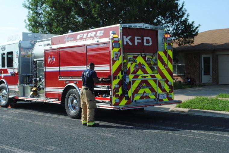 Morning fire in Killeen