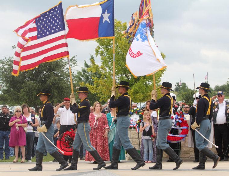 Central Texas Memorial Day ceremony