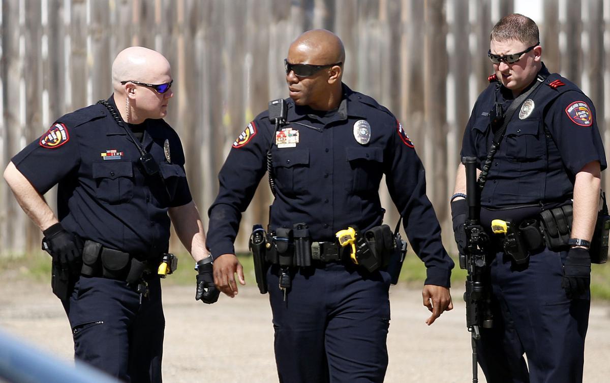 Soldier standoffs: Police, community respond