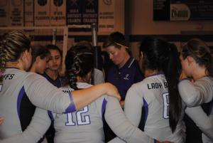 Florence vs. Round Rock Christian volleyball