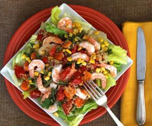 Chilean quinoa salad