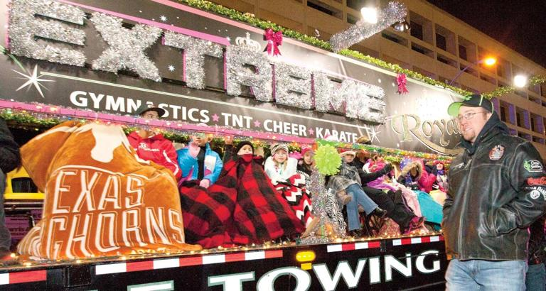 Temple Christmas parade marches through downtown