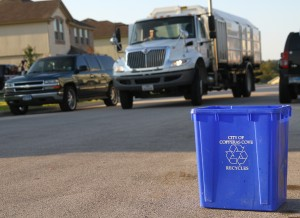 Cove Considering Single Stream Recycling