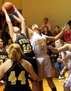 Lometa vs Evant Girls Basketball