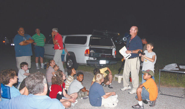 A patient pursuit Central Texas Astronomical Society shares mysteries of the night sky
