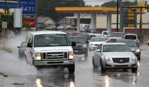 Rain in Killeen
