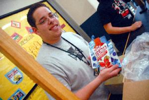 Ellison senior mixes lunch and learning