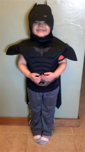 Boy's Batman Wish