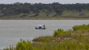 Search at Belton Lake