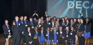 Cove High DECA members