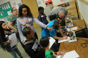 SMART kids: Saegert classes get up close look at math, science