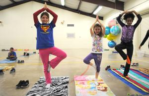 Yoga teaches kids to move with purpose