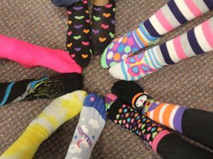 Copperas Cove Crazy Sock Day