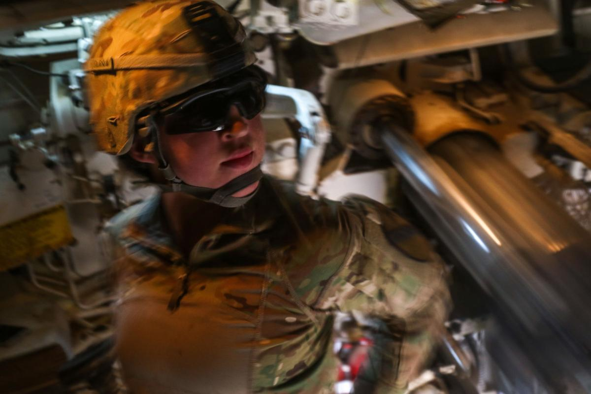 U.S. Army Pvt. Estrakate Stahl
